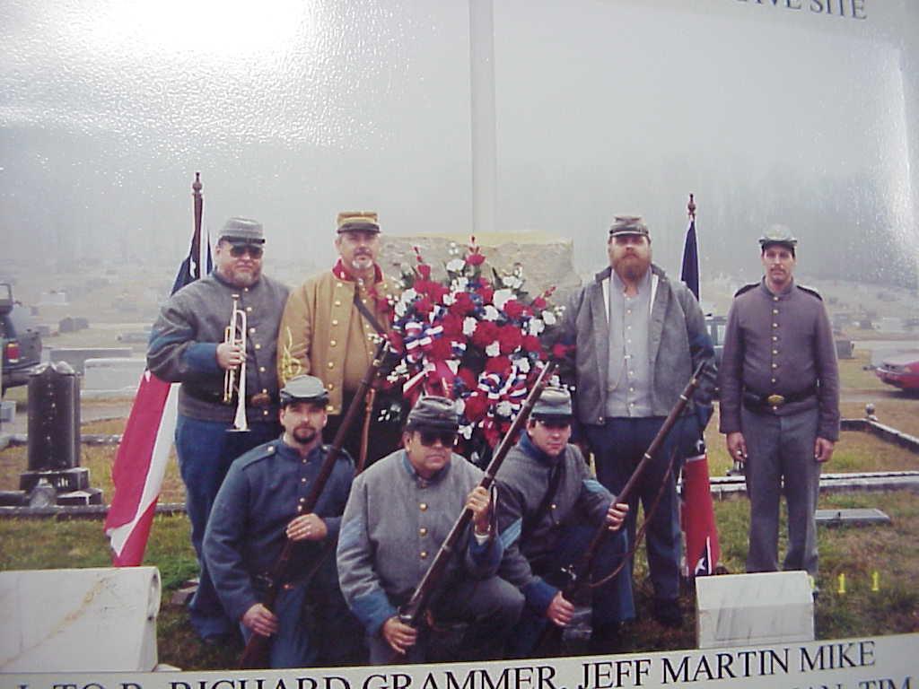 Longstreet Grave Marker Memorial